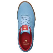 Botas Skate Emerica Herman G6 Vulc Light Blue
