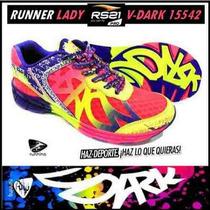 Rs21 V-dark 15542 Fucsia Neon Y Morado Tallas 38, 40 Y 41