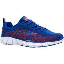 Zapatos Ionic Rs21 Para Caballero (azul Rey/naranja)