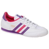 Zapatos Deportivos Adidas Para Damas Dragon J 100% Original