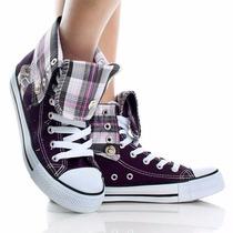 Zapato Plataforma Fashion, Blanco Morado 7