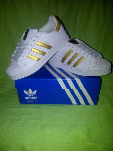 zapatos deportivos addidas super star originales