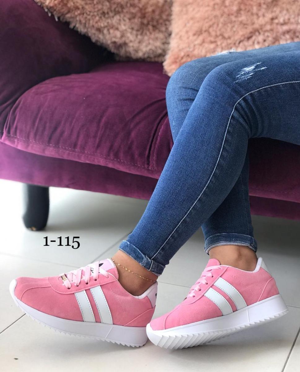 Para Zapatos Zapatos Deportivos Adidas Damas Deportivos FTlK1Jc