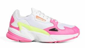 Dama Deportivos Adidas Originales Falcon Shoes Zapatos Para EIHD9W2Y