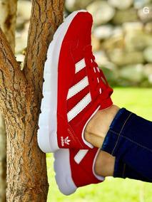 Zapatos Trenzados Rojos Dema+ Zapatos Adidas en Mercado