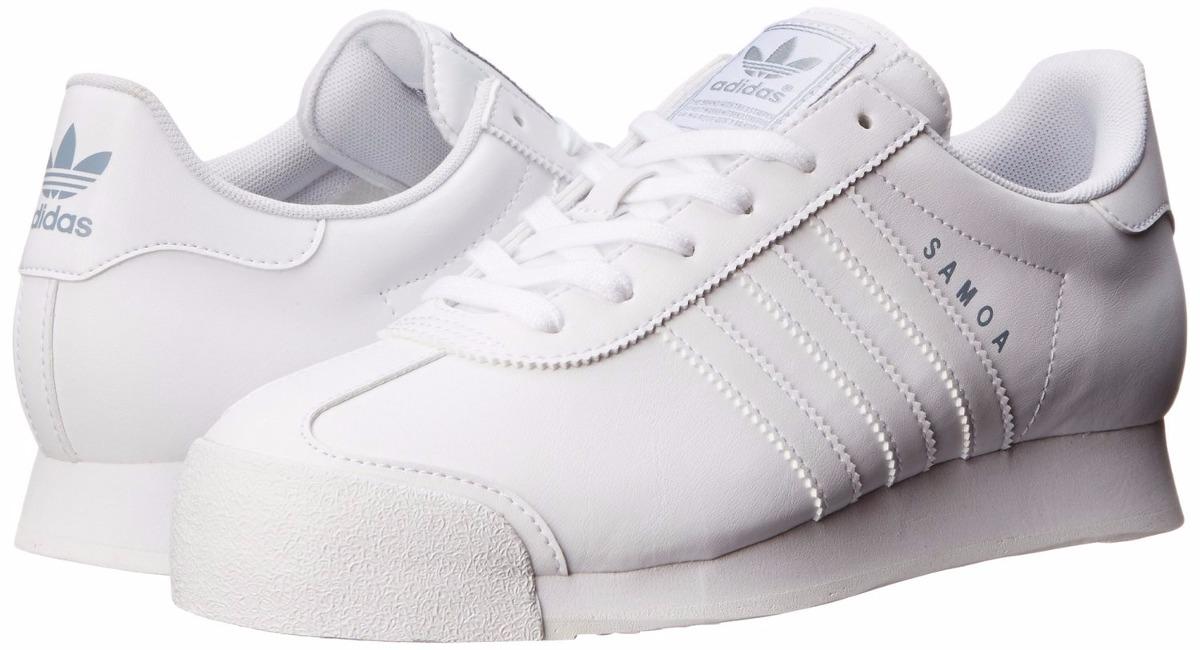 zapatillas adidas samoa blancas
