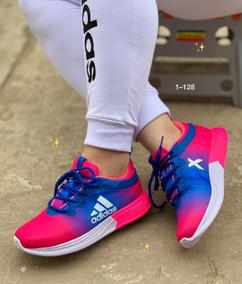 Para Sublimados Damas Zapatos Deportivos Adidas f6b7gYy