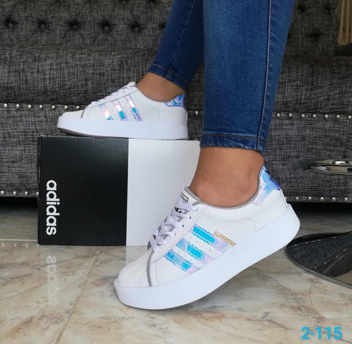Zapatos Deportivos adidas Superstar Dama 2018