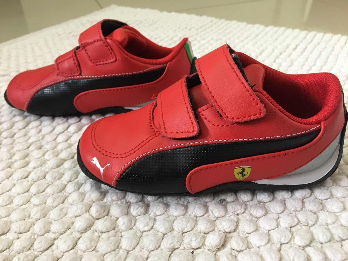 2b443829a zapatos deportivos casual de niño marca puma diseño ferrari. Cargando zoom.