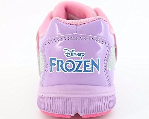 zapatos deportivos con luces frozen m-3 (disney original)