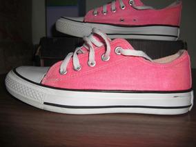 zapatos converse fucsia