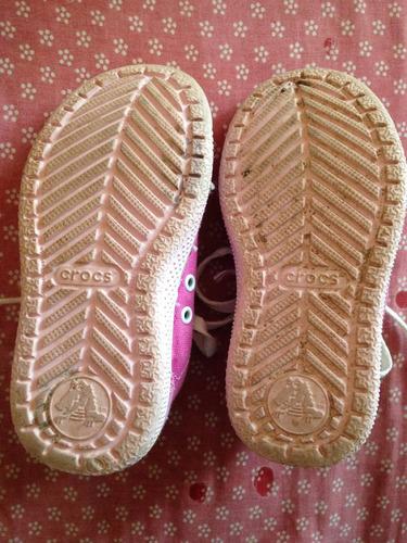 zapatos deportivos crocs originales de niña