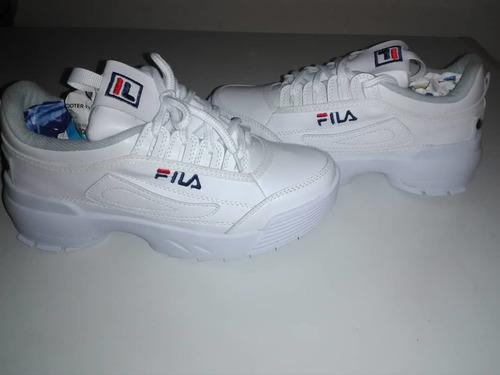 zapatos deportivos fila talla 37 a estrenar