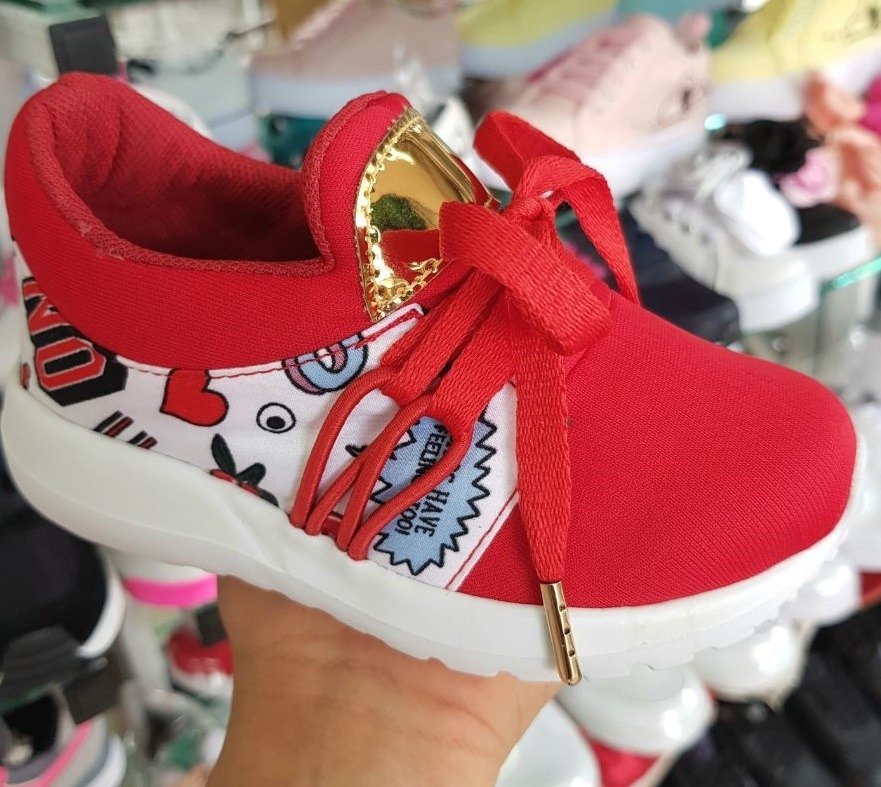 bc4a1fa35 zapatos deportivos infantiles para niña rojo tallas 21 a 33. Cargando zoom.