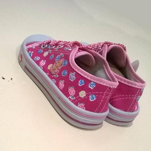 zapatos deportivos kiuty fucsia tipo convers s10