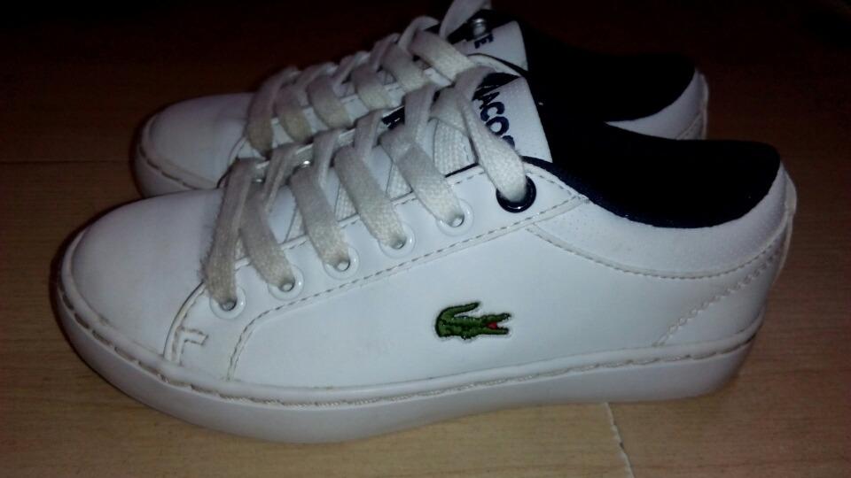d09d258e15922 zapatos deportivos lacoste originales, para niños nro 28. Cargando zoom.