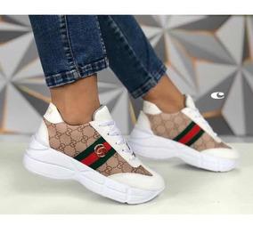 Zapatos Deportivos Mujer, Zapato Gucci Dama
