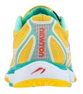zapatos deportivos   newton running   amarillos   kismet
