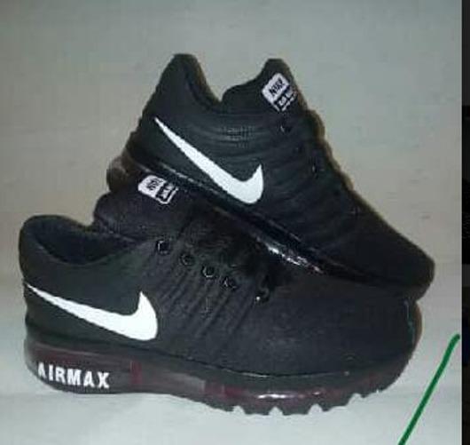 Zapatos Deportivos Nike Airmax Para Niños Con Luces