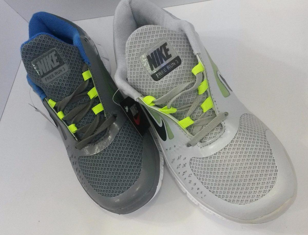 Zapatos 2 Deportivos Nike Free Run 3 Unisex 2 Zapatos Diseñ 1 95 en c4d86b