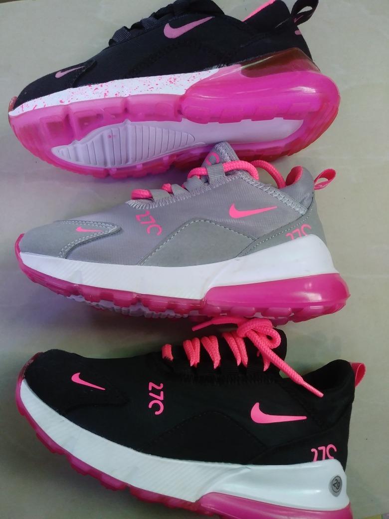 90ced63b Zapatos Deportivos De Niña Colombiano Nike 270 - Bs. 110.000,00 en ...