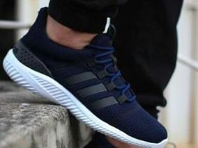 en venta d1c42 33597 Zapato Karirbin Vinotinto - Zapatos Adidas de Hombre Azul en ...