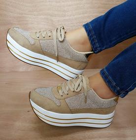 98267a034fad Zapatos Deportivos Para Dama Altos Moda Colombia Dama Moda