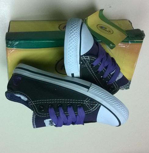 zapatos deportivos para ninas tipo convers crayola s10
