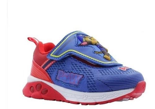 zapatos deportivos paw patrol de niños