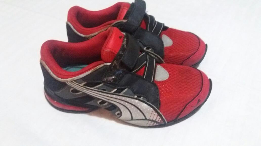 c5a4fbc3b Zapatos Deportivos Puma Original Para Niño Talla31 1/2 - Bs. 0,25 en ...