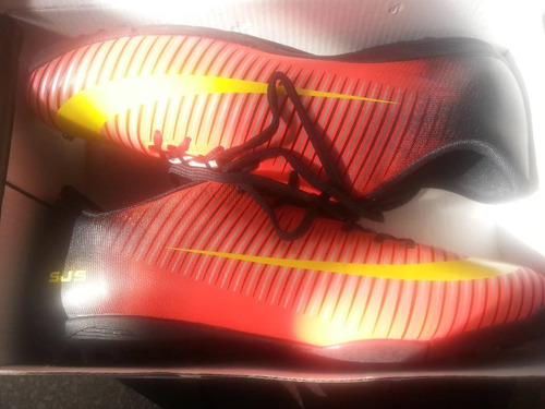 zapatos deportivos semi-tacos futbol nuevos