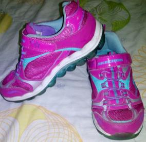 32 Talla Girl Deportivos Skechers Zapatos Para Niñas VpSUGqzM