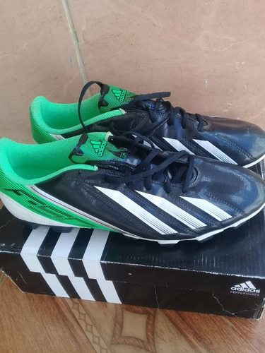zapatos deportivos tacos futbol campo adidas 11us, mod f50