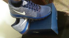 Zapatos Con Rueda Atras Deportivos Zapatos Nike Azul en