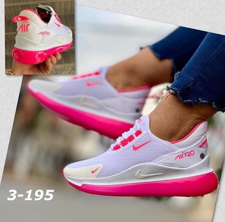 Zapatos Deportivos Zapatillas Tipo Tenis Dama, Mujer Ellas