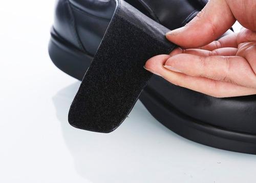 zapatos diabéticos 100% cuero. pies cómodos y seguros.