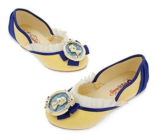 zapatos disfraz  blancanieves originales disney talla 27/28