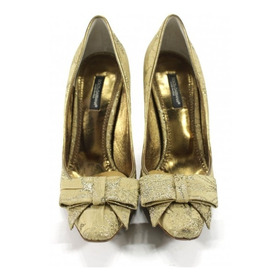 Zapatos Dorados Dolce & Gabbana