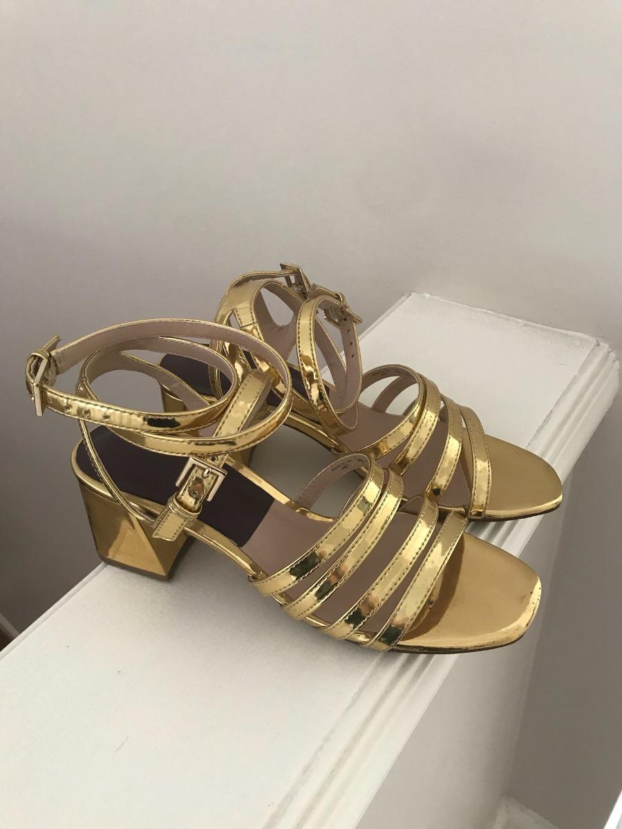 Zara Fiesta 000 00 Zapatos Libre Dorados Mercado 372 Talle En b7vYgf6y