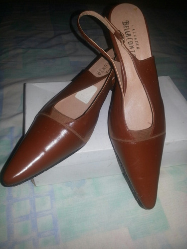 zapatos ejecutivos en semi piel e