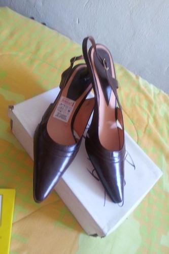zapatos ejecutivos semi cuero