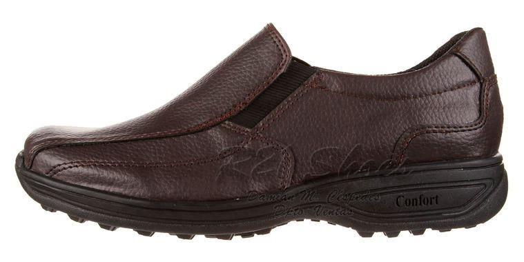 466b43b39ff4f Zapatos Elastizados De Vestir Para Hombre Línea Confort 2019 ...