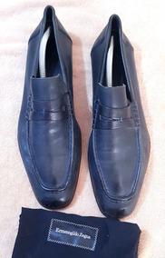 0cc780c143 Zapatos Ermenegildo Zegna. Azul Quemado. 8.5 Mexicano.