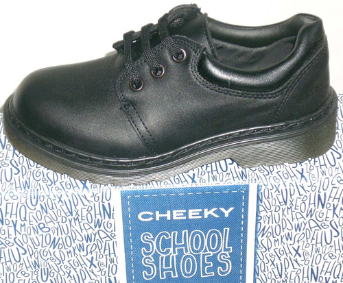zapatos escolar cheeky cuero vacuno cordones y guillermina