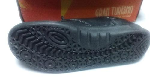 zapatos escolar gran turismo niño talla 38