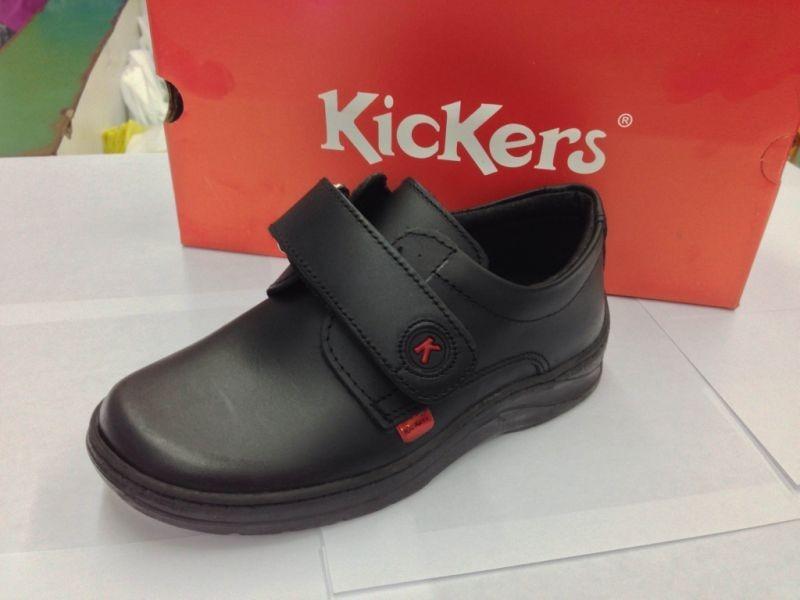 6b0dbc8e zapatos escolares colegiales kickers para niños 100% cuero. Cargando zoom.