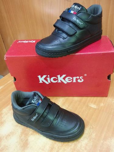 zapatos escolares deportivos kickers originales 28-40