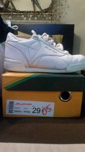 zapatos escolares deportivos marca jump unisex talla 29