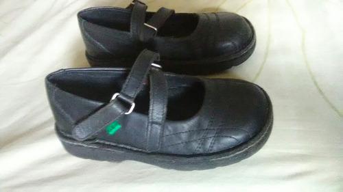 zapatos escolares kickers n° 28 usados