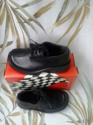 zapatos escolares lock talla 29 negro niño